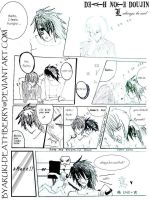 Deathnote doujin L-be cool by byaruki-deathberry