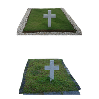 Two Cross Graves PNG by chaseandlinda