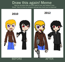 Before And After Meme by zekeNskullers