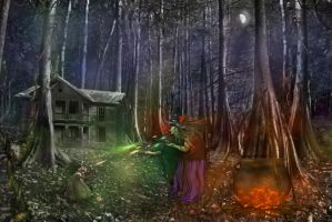 The Witching Hour  by LindArtz