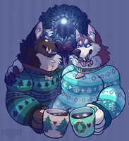 happy howlidays by ForestFright
