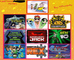 Favorite Cartoon Network Shows by SonicX16