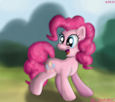 Painted Pinkie Portrait by YoshiMan1118