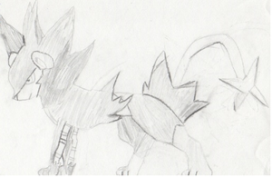 Luxray Attempt (Better View) by The-Fire-Magician