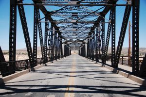 1st Street Bridge by atomicrick