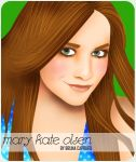Mary Kate Olsen by dame-porcelaine