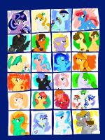 The Future MLP cast by Icytherabbit1