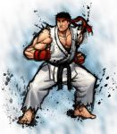 Street Fighter IV: RYU by Jiggeh
