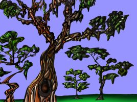 drippy trees by SpencerChinoy71