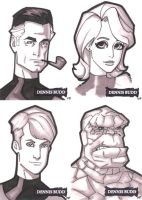 Fantastic Four by DennisBudd