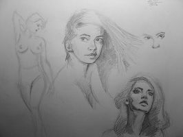 Sketch of the day - Lidia by gmar1k