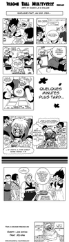 DragonBall Multiverse concours Minicomics by Jak-Ich-an