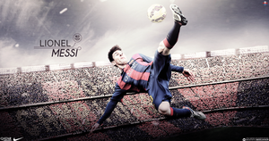 Messi by AboElkhairGfx