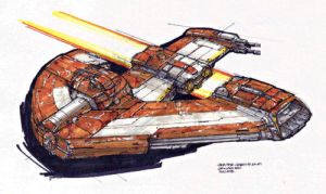 The Phoenix- RJ book1 vehicle by master-jedi231