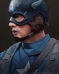 Captain America by Gilouw