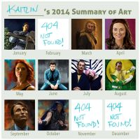 2014 Summary of Art by MissingMyMind