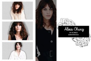 PACK PNG 72 // ALEXA CHUNG by Bonitarogue