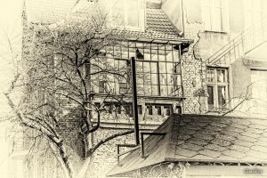 In the footsteps of old Gdansk townhouses 13 by wiwaldi24