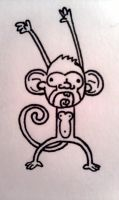 This Monkey is going bananas by JoePhatty