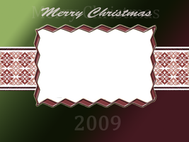 Merry Christmas picture frame by daftopia