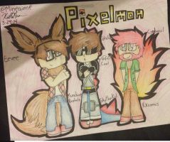 Pixelmon!!!!!! by Mineaime