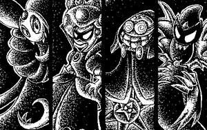 The Villains (Miiverse art) by Angelstar7