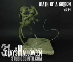 Death of a Gorgon by StudioGuinto