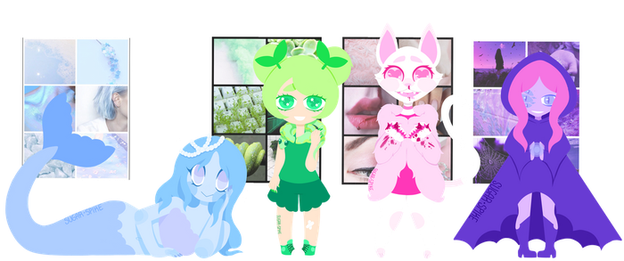 Mystery Adopts Reveal 2! by SugarSpike