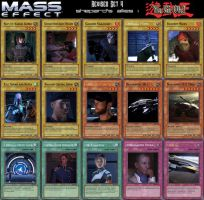 Yu-Gi-Oh Mass Effect Revised Set 4 by Blackcell8