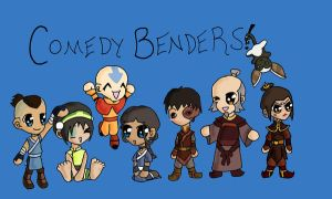 Comedy Benders ID contest by beta-joovey