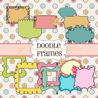 Doodle Frames Pack by YoonAsGeneration