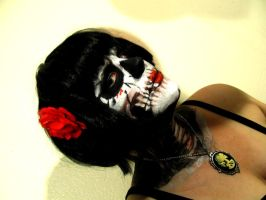 Skull Face paint by Lani-San