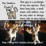 Skulters: Prototype and Info by BriGerbil-KimiFae