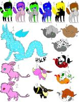 Cheap Mixed Adopts 2 by TwilightLuv10