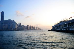 Hong Kong - Victoria Harbour by castles-609