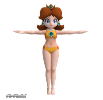 Daisy new Bikini for XNAlara by ArRoW-4-U