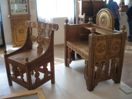 Wooden Chairs by rifka1