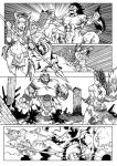Commission - Action Page by shonemitsu