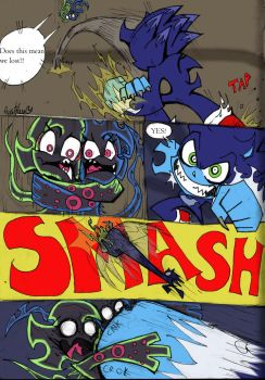 Coloured!Sonic PSG Style sketch comic pg 4 by Auroblaze