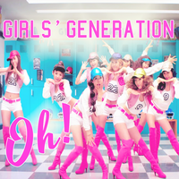 CD COVER.~ SNSD_Oh! by Solita-San
