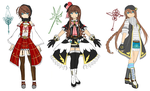 FC Project: All 1st Classes! by Subcounscious