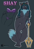 Shay - NSFW Ref 2014 by Ravica