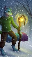 Light in the Snowstorm by howlingvoice