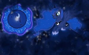 Princess Luna Wallpaper by Kage-Kaldaka