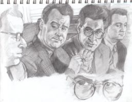 Sketch: Teh Ghostbusters by VultureEye