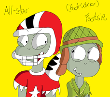 All-Star and Footsie (Foot Soldier) READ DESC PLZZ by TXGamerGirlz