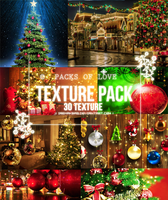 TEXTURE Pack (23) Christmas Textures by IremAkbas