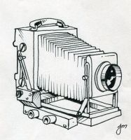 Old Camera by martianink