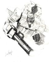 Megatron-Origin version by LivioRamondelli