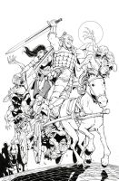 Dungeons and Dragons issue 2 by Max-Dunbar